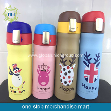 Cute Design Children Use Stainless Steel Thermos